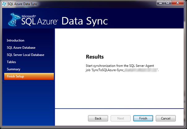 SQL-Azure-Data-Sync-Results