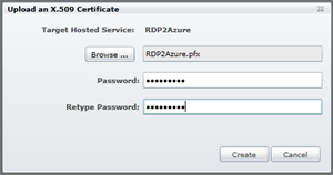 Upload-Certificate-Password
